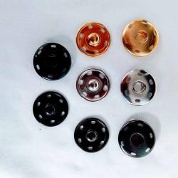 Tryklås 15 mm 4 farver 5 stk.pr.pose