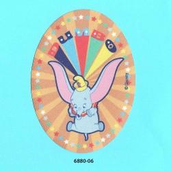 Dumbo printet oval strygemærke 11x8 cm 6880-06