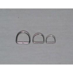 D-ringe i sølv