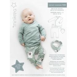 Babysæt/hagesmæk Minikrea snitmønster 11430