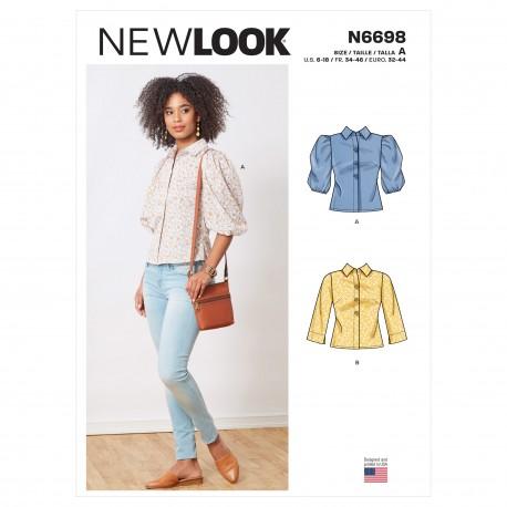 Skjorte New look snitmønster 6698