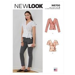 Peplum bluse New look snitmønster