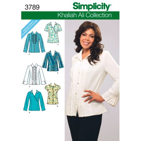 Skjorte og bluse snitmønster