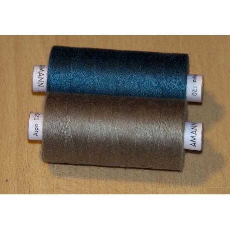 Amann 120 sytråd 1000m 100% polyester