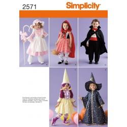 Rødhætte, bl.a , Dracula kostume til små folk