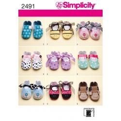 Babysko, Simplicity snitmønster