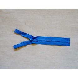 Mellem blå lynlås 6mm delrin