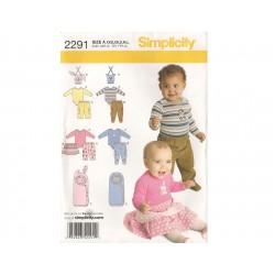 Babytøj dreng/pige snitmønster