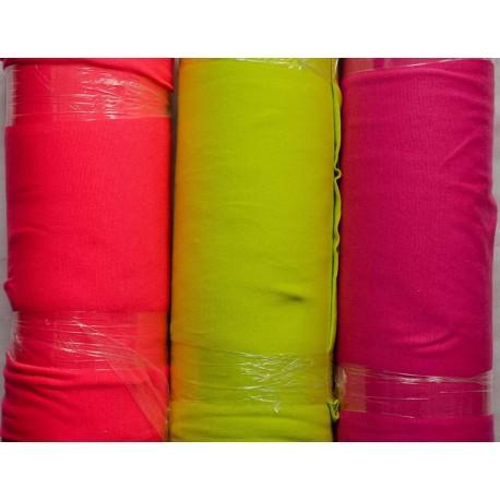 Ribstof i Neon-farver 40 cm DB bred