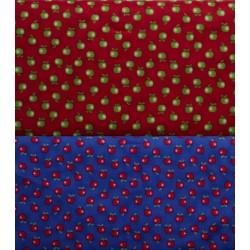 Thomsen bears æbler patchwork stof