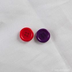 knap, 4-hul, 20mm