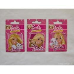 Barbie Printet strygemærke 3 stk.pr.pose