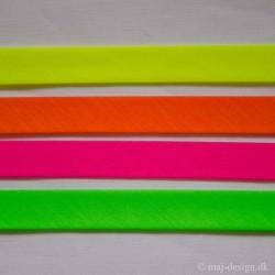 Skråbånd i Neonfarver, 18 og 25 mm