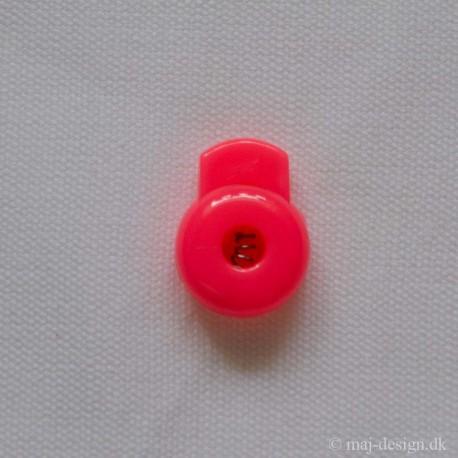 Snor stopper rund neon pink 4mm