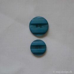 Lyse blå knap 2-hul