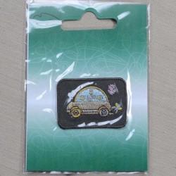 Lille Bil 3 x 4,5 cm Broderet strygemærke
