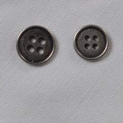 Knap GL:Sølv 13mm 2 Str.