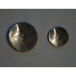 2-huls metal knap