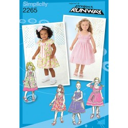 Pige kjole snitmønster
