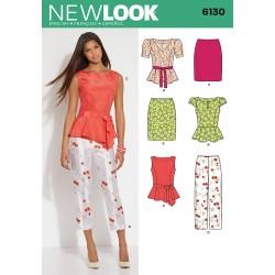Bukser, top og nederdel Snitmønster