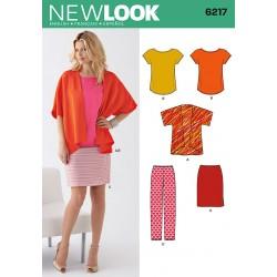 Nederdel,jakke og bukser Snitmønster New Look