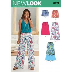 Nederdel, shorts og bukser Snitmønster New Look
