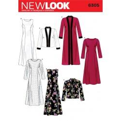 Kjole, Jakke og frakke Snitmønster New Look