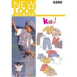 Børnetøj dreng/pige Snitmønster
