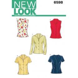 Skjorte Snitmønster NEW LOOK