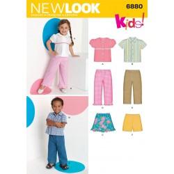 Børnetøj dreng/pige Snitmønster NEW LOOK