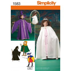 Kostume, kappe, hat og tunika, børn Snitmønster