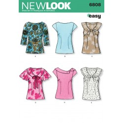 Bluse 6 varianter snitmønster NEW LOO easy