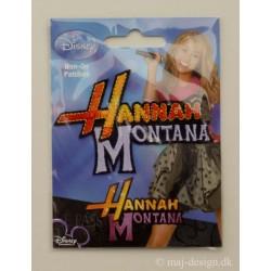 Hannah Montana ca.7 cm strygrmærke