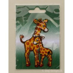 Giraffer ca.10 cm høj strygemærke