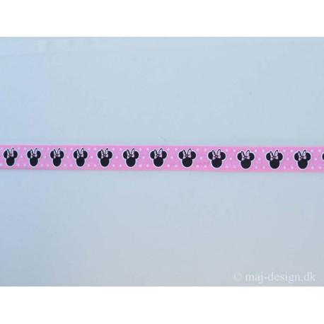 Minnie Mouse folde elastik 15mm
