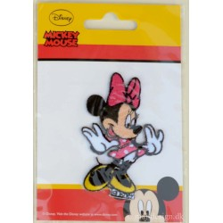 Minnie Mouse strygemærke 8x5,5 cm