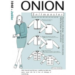 Kort Jakke Onion snitmønster