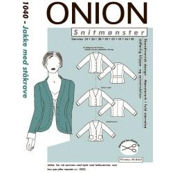 Jakke m/ståkrave Onion snitmønster
