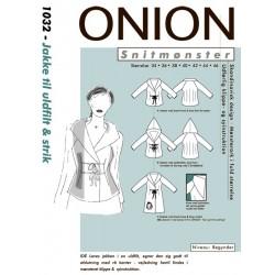 Jakke til ulfilt og strik Onion snitmønster