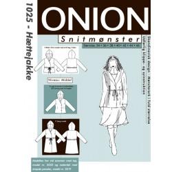 Hættejakke Onion snitmønster