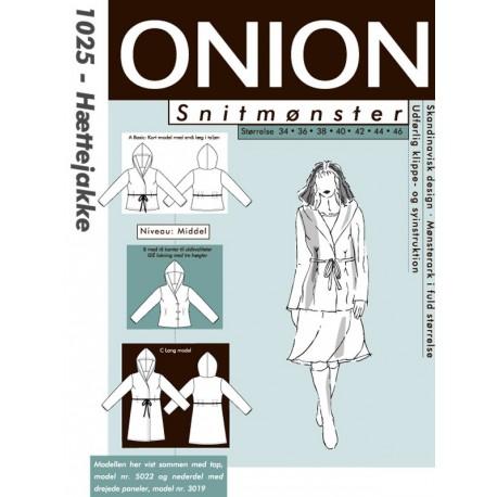 Hættejakke Onion snitmønster 1025