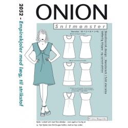 Empirekjole med Læg onion snitmønster 2052