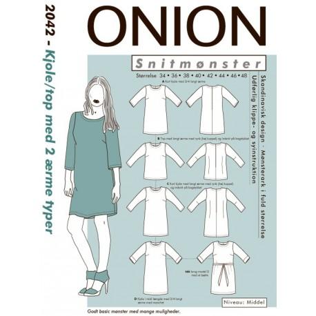 Kjole og top Onion snitmønster 2042