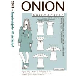 Empirekjole Onion snitmønster 2041