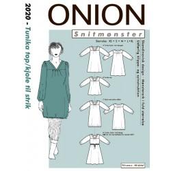 Kjole/tunika/top onion snitmønster