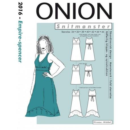 Empire spencer onion snitmønster 2016
