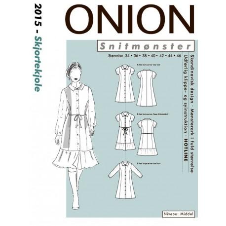 Skjortekjole onion snitmønster 2015