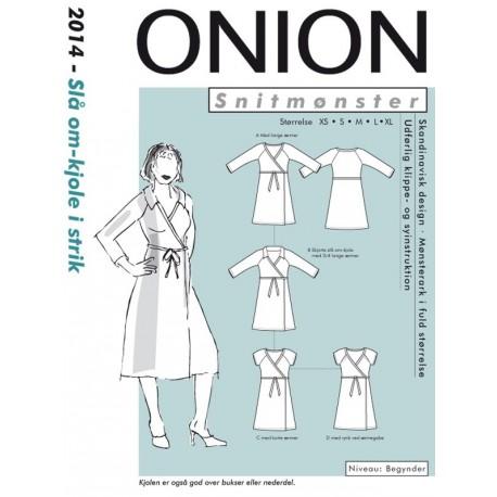 Slå om kjole onion snitmønster 2014