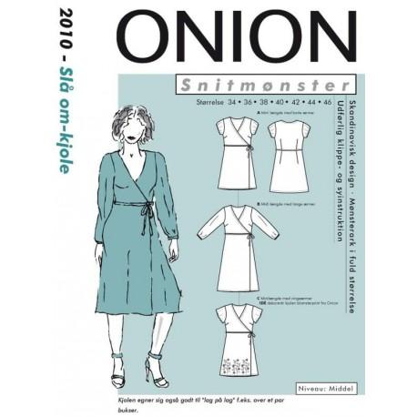 Slå om kjole onion snitmønster 2010