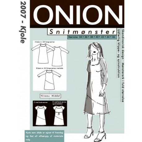 Kjole onion snitmønster 2007